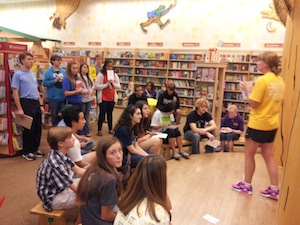 Barnes and Noble youth board